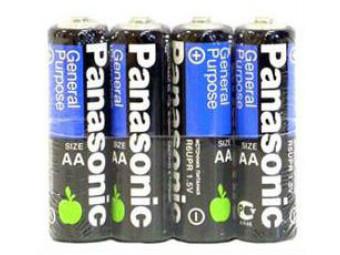 Купить Батарейка тип AA Panasonic R6  4шт (R6BER/4P)
