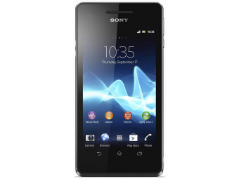 Купить Смартфон Sony LT 25i Xperia V Black