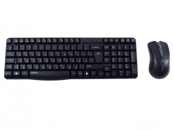 Купить Клавиатура и мышь компьютерная rapoo X1800