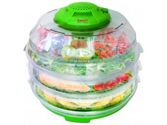 Купить Сушилка для фруктов и овощей Saturn ST-FP0112 (салатовый с прозрачным)