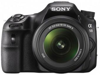 Купить Фотокамера со сменным объективом Sony SLT-A58K Kit 18-55mm