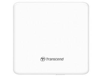 Купить Привод оптический внешний Transcend DVD+/-8X/24x Ultra Slim белый