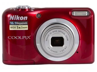 Купить Фотокамера Nikon Coolpix A10 Red (VNA982E1)