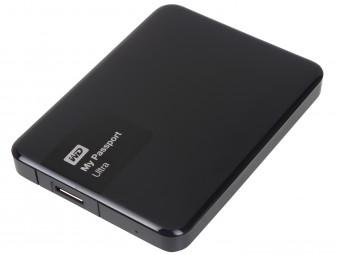 Купить Жесткий диск внешний проводной WD My Passport Ultra 500 GB Black (WDBWWM5000ABK)