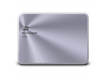Купить Жесткий диск внешний WD My Passport Ultra Metal Silver 1 TB
