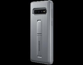 8d065d1de798c Чехол для смартфона Samsung Protective Standing Cover Silver for S10  (EF-RG973CSEGRU)