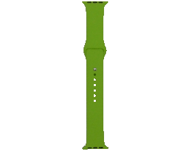 Ремешок для смарт-часов Molife Apple Watch Silicone Sport Band Green 42mm