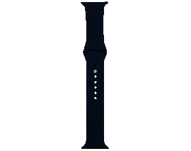 Ремешок для смарт-часов Molife Apple Watch Silicone Sport Band Midnight Blue 42mm