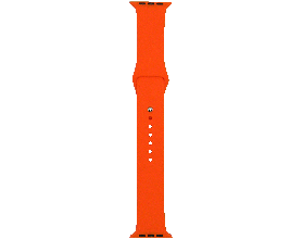 Ремешок для смарт-часов Molife Apple Watch Silicone Sport Band Orange 42mm