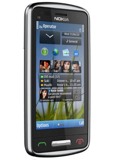 Фото - Смартфон Nokia C6-01 Silver