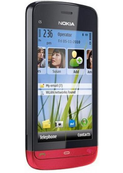 Фото - Смартфон Nokia C5-03 Red