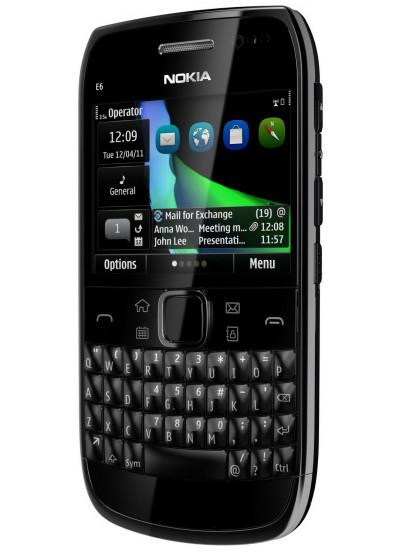 Фото - Смартфон Nokia E 6 Black