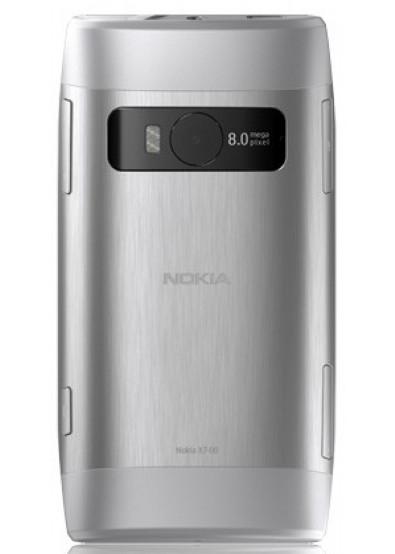 Фото - Смартфон Nokia X7 Light Steel