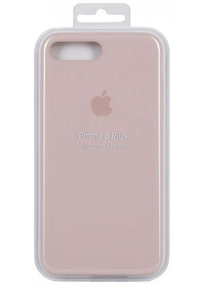 huge discount 93d11 c7774 Чехол для смартфона Apple iPhone 8 Plus / 7 Plus Silicone Case - Pink Sand  (MQH22ZM/A)