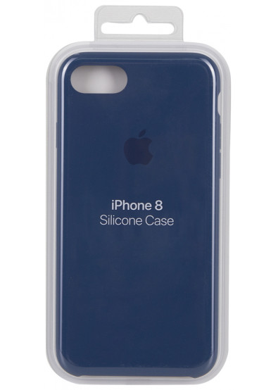 best service c6fe4 6ef4b Чехол для смартфона Apple iPhone 8 / 7 Silicone Case - Blue Cobalt  (MQGN2ZM/A)
