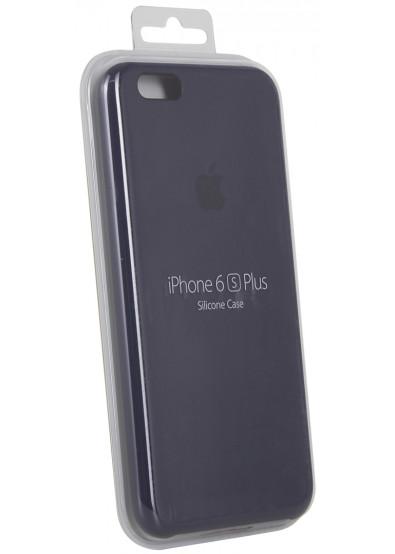 hot sale online ecbe0 19a3c Чехол для смартфона Apple iPhone 6s Plus Silicone Case - Midnight Blue  (MKXL2ZM/A)
