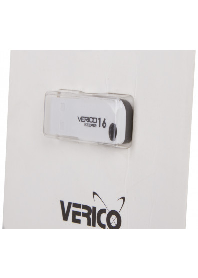 Фото - Флеш USB Verico Keeper 16 GB White+Black (1UDOV-P0WKG3-NN)