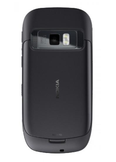 Фото - Смартфон Nokia 701 Dark Steel
