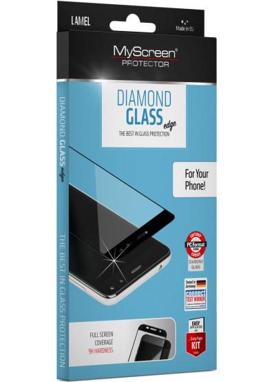 Фото - Защитное стекло для смартфона MyScreen DIAMOND GLASS edge Gold Samsung Galaxy J3 2017