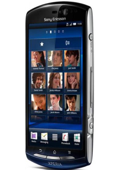 Фото - Смартфон Sony Ericsson MT 11i XPERIA Neo Blue Gradient
