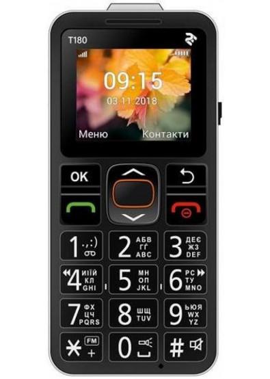 Фото - Мобильный телефон 2E mobile T180 SingleSim Black