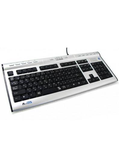 Фото - Клавиатура A4tech KL-7 MUU USB (Grey+Black)