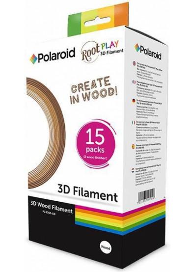 Фото - Нитка для PLA-картриджа Polaroid Набор для ручки 3D ROOT Play 1.75 мм (3 цвета) (PL-2501-00)