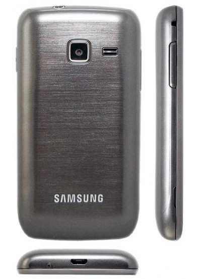 Фото - Смартфон Samsung S 5380 Wave Y Sand Silver