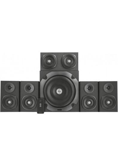 Компьютерная акустика 5 1 Trust Vigor 5 1 Surround Speaker System for PC  Black (22236)