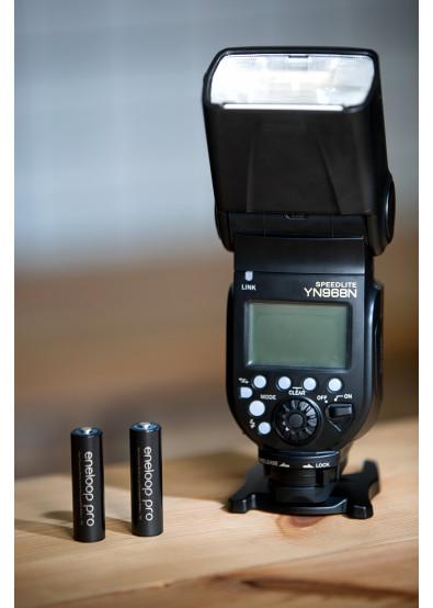 Фото - Аккумулятор тип AA Panasonic Eneloop Pro AA 2500 mAh 4BP+Case (BK-3HCDEC4BE)