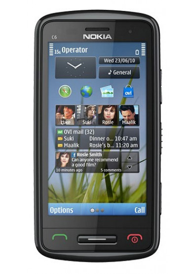 Фото - Смартфон Nokia C6-01 Black