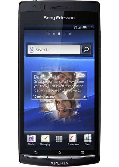 Фото - Смартфон Sony Ericsson LT 15i XPERIA Arc Midnight Blue