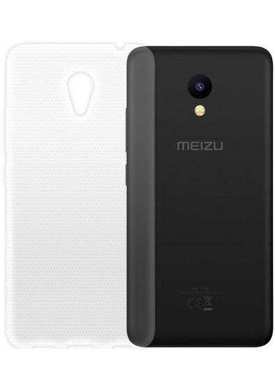 Фото - Чехол для смартфона Global Extra Slim для Meizu M5c (TPU, cвітлий)
