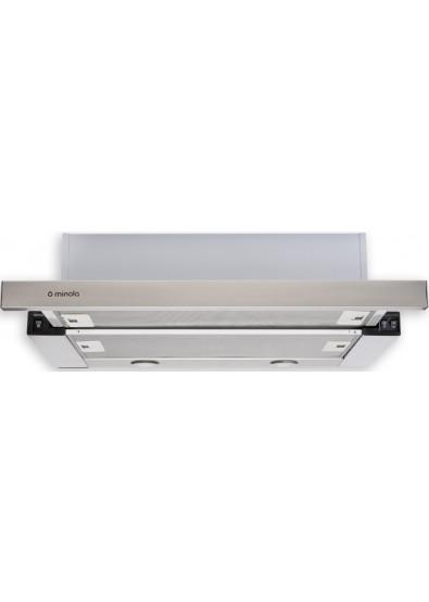Фото - Вытяжка встраиваемая Minola HTL 6112 FULL INOX 650 LED