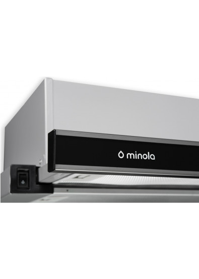 Фото - Вытяжка встраиваемая Minola HTL 6172 I/BL GLASS 650 LED