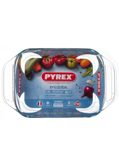 Фото - Форма для выпечки Pyrex Irresistible 27х17х6см (1,4л) (406B000)