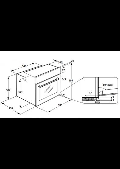 Фото - Духовой шкаф электрический Whirlpool AKZ 96230 S