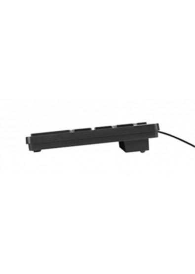 Фото - Клавиатура проводная Acme KS07 Slim USB Black (4770070878125)
