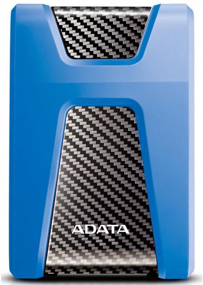Фото - Жесткий диск внешний ADATA Durable HD650 2TB USB 3.1 Blue (AHD650-2TU31-CBL)