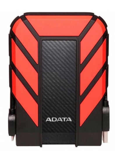 Фото - Жесткий диск внешний ADATA Durable HD710P 2TB USB 3.1 Red (AHD710P-2TU31-CRD)
