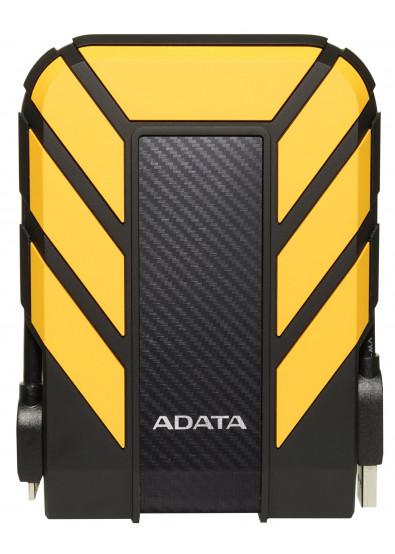 Фото - Жесткий диск внешний ADATA Durable HD710P 2TB USB 3.1 Yellow (AHD710P-2TU31-CYL)