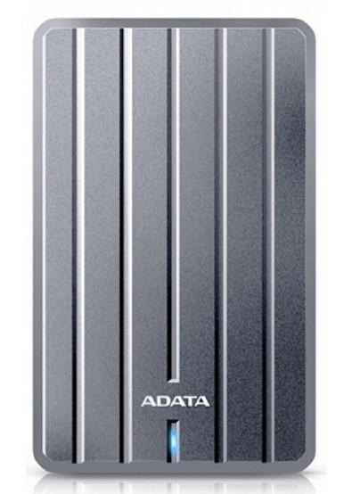 Фото - Жесткий диск внешний ADATA HC660 2.5 2TB USB 3.0 Slim Titanium (AHC660-2TU3-CGY)