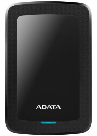 Фото - Жесткий диск внешний ADATA HV300 2TB USB 3.1 Black  (AHV300-2TU31-CBK)