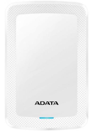 Фото - Жесткий диск внешний ADATA HV300 2TB USB 3.1 White  (AHV300-2TU31-CWH)