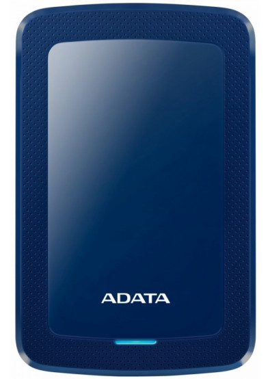 Фото - Жесткий диск внешний ADATA HV300 4TB USB 3.1 Blue  (AHV300-4TU31-CBL)