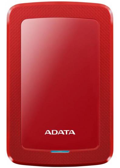 Фото - Жесткий диск внешний ADATA HV300 4TB USB 3.1 Red  (AHV300-4TU31-CRD)