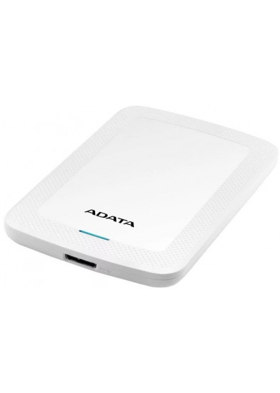 Фото - Жесткий диск внешний ADATA HV300 5TB USB 3.1 White  (AHV300-5TU31-CWH)