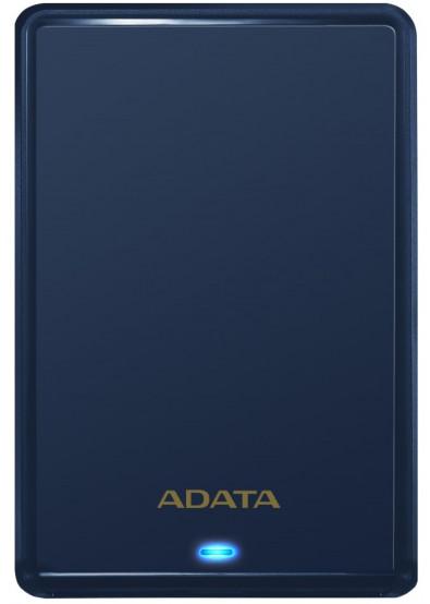 Фото - Жесткий диск внешний ADATA Slim HV620S 2TB USB 3.0 Blue (AHV620S-2TU31-CBL)