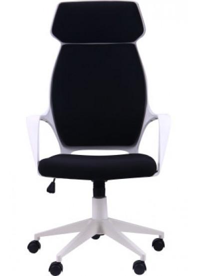 Фото - Кресло офисное AMF Concept Белый, ткань Черный