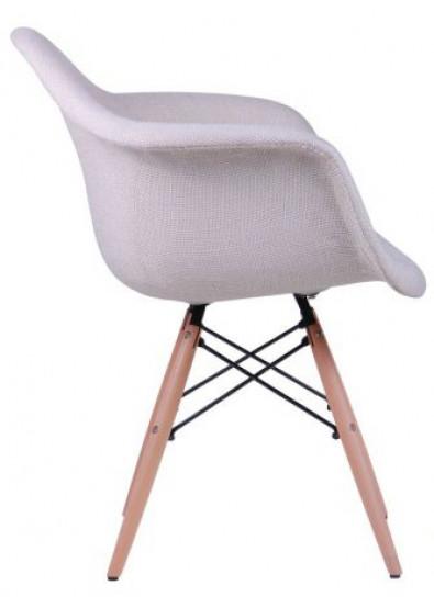 Фото - Кресло офисное AMF Salex FB Wood Кремовый